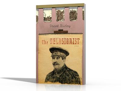 The Delusionist book cover book illustration design