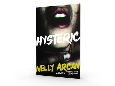 Anvil Hysteric book cover book design book cover book jacket