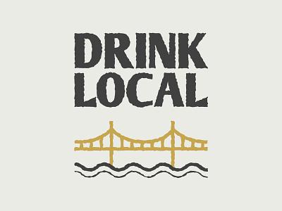 Drink Local roughen graphic bridge local drink pittsburgh