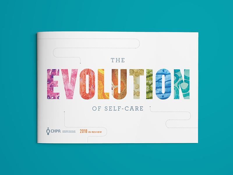 Annual Report Cover self-care science evolution texture detail microscope health care report cover annual report