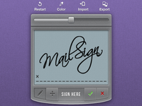 Digital Signature Pad