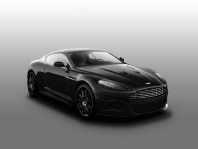 Aston Martin vector car vehicle digital painting