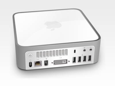Mac Mini vexel vector digital painting