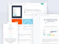 Capsule blog design update