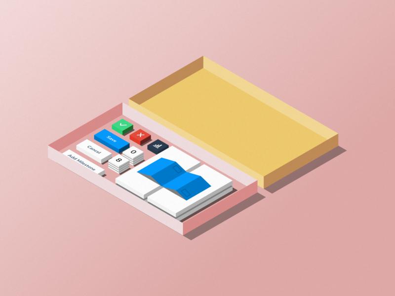 Build-it-yourself pipeline - Isometric illustration illustration isometric illustration isometric