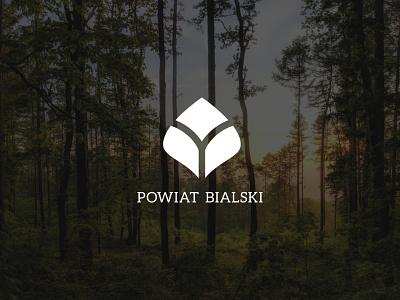 """Logo """"Powiat Bialski"""" nature logo design logotype logo poland"""