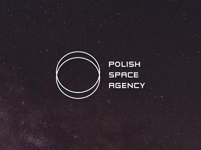 Polish Space Agency logo concept II observatory poland cosmos logo space logo space agency cosmos logo concept logo design logo
