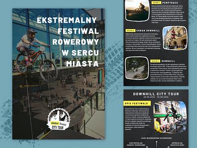 Downhill offer city festival pumptrack urban downhill urban festiwal rowerowy offer sport bike downhill presentation