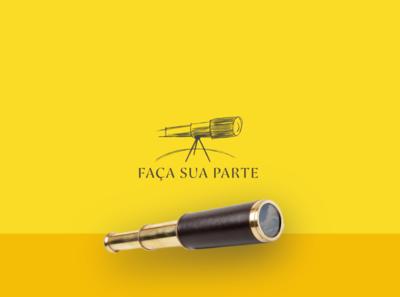 Faça Sua Parte designs scketch loyall fsp ccvideira criativo creative luneta spyglass