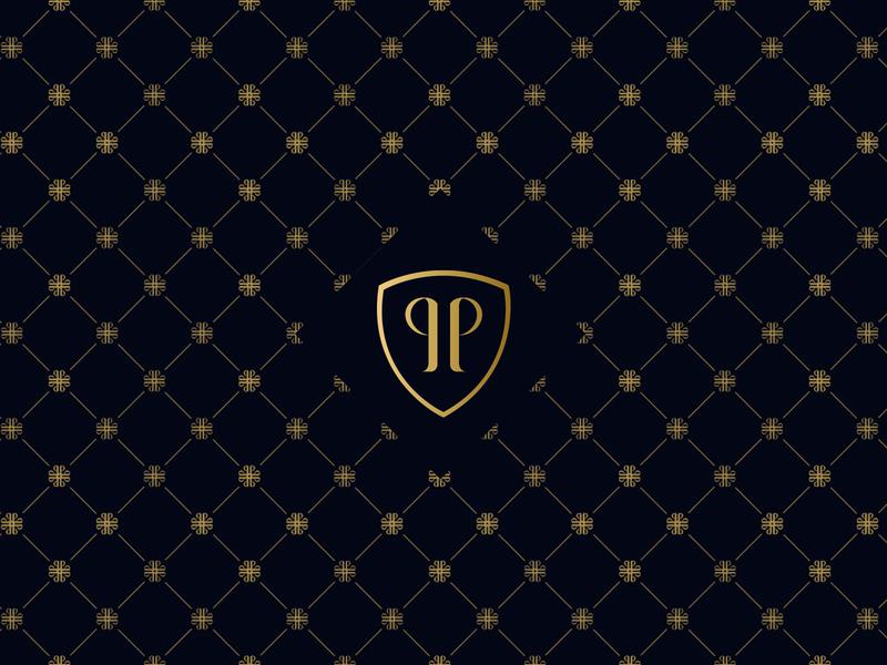 Helano Pontes lawyer law firm monogram creative vector design illustration branding logo loyall