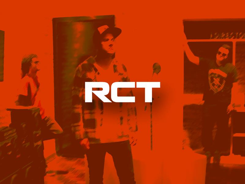 RCT Band logotype branding design logo loyall band merch rct rock band