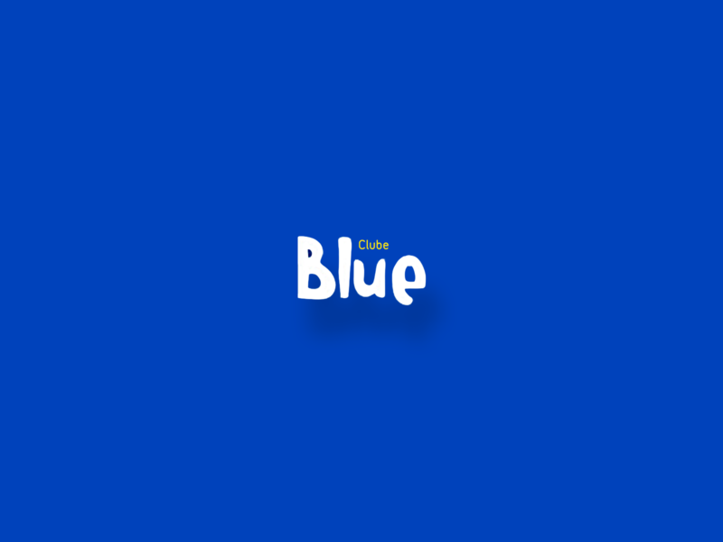 Clube Blue design branding logotype logo loyall sale off promotion vantagens descontos blue