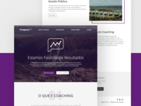 Prospects Coaching Landing Page