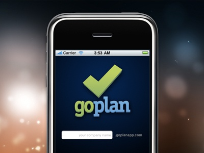 Goplan iPhone Login goplan iphone login logo