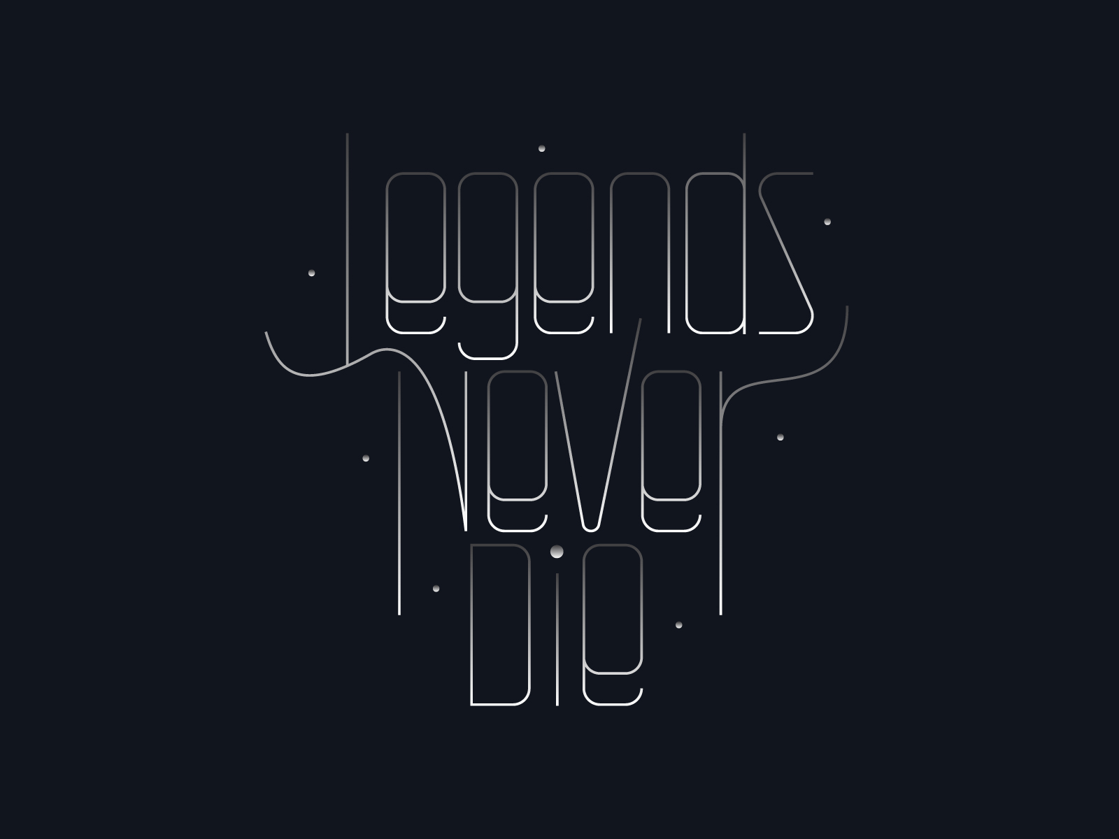 Legends Never Die By Tejas Dhawade On Dribbble