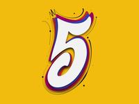 36DaysofType - 5