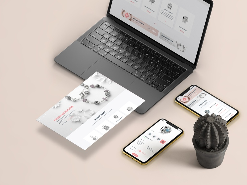 The Jewel, website, e-commerce e-commerce web ux design simple ui clean website