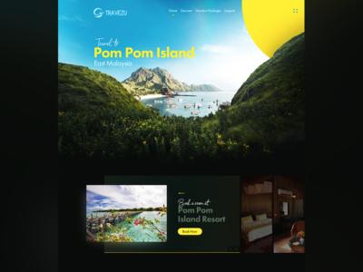 Pom Pom Parallax Island