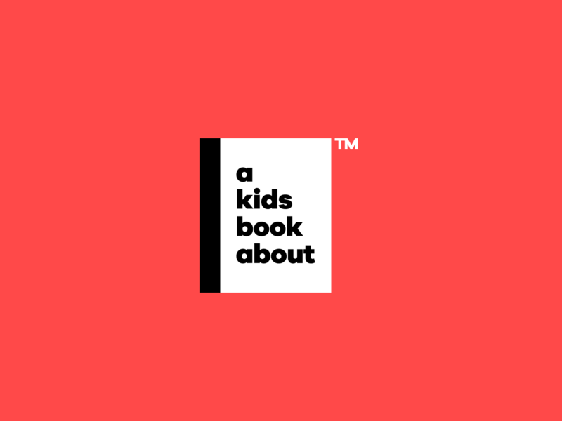 A Kids Book About Logo figma wordmark logo branding brand design