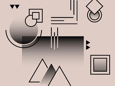 Shape & Color Exploration ~~ 2020 brand personal process exploration vector figma colors shape
