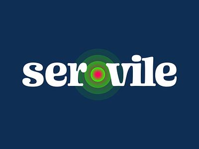 Servile Branding logo design figma vector logotype typography wordmark design branding brand logo