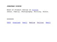 A Personal Website Reboot (jdsimcoe.com)