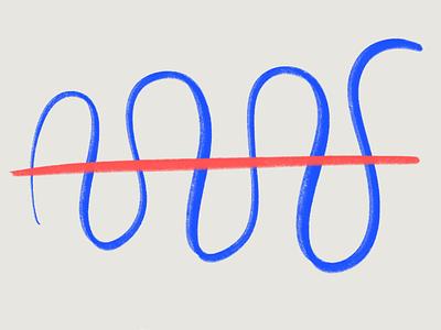 The Winding Path ideation freeform process ipad pro procreate sketching illustration design