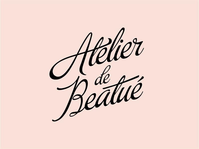 Atelier de Beatue Logo by Drew Hower on