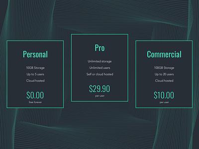 Daily UI Challenge #030 - Pricing clean web gradient shop price pricing pattern daily ui 30 daily ui daily challenge app