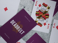 Deadbolt Bar deck of cards