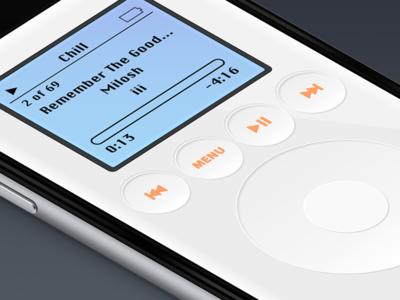 iPod 3rd Gen iOS app