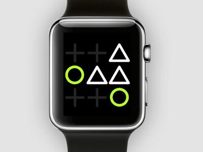 Apple Watch Tic Tac Toe