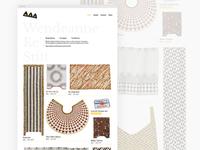 Artist Portfolio Homepage
