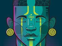 Celebrating Humanity vodka absolut africa charactedesign black consciousness adobe illustrator african illustration flat illustration character design vector illustration illustration
