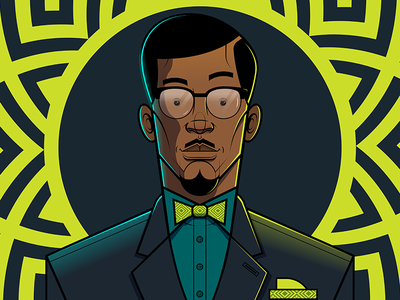 Patrice Lumumba print vector africa black consciousness adobe illustrator african illustration character design illustration flat illustration vector illustration african