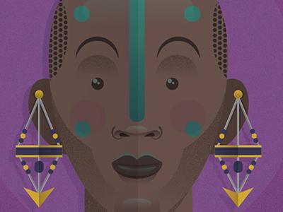 (Keep It) One Hunnid vector print illustration