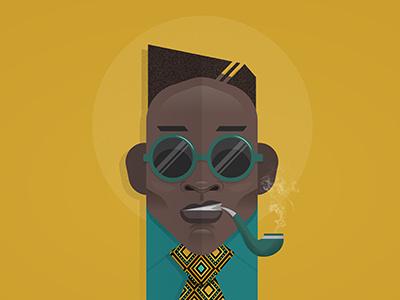 (Keep It) One Hunnid: #02 print vector african illustration