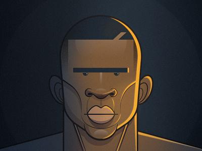The Handler flat illustration vector illustration character design