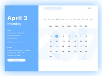Calendar Mac OS App