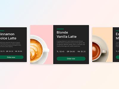 Starbucks Cards ui web coffee cards starbucks