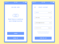 Sign Up Form - Daily UI Challenge