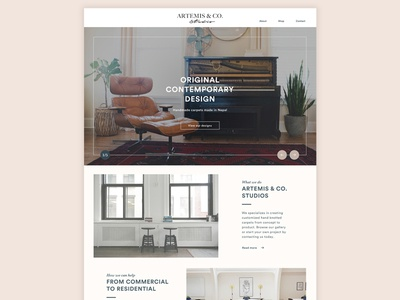 Clean E-commerce Site
