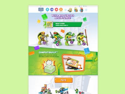 TMNT Construction Toys Website
