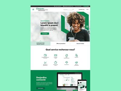 Desjardins Website