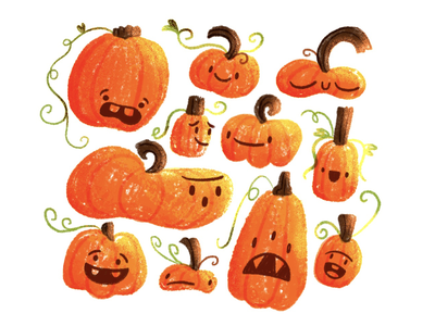 A Persnickety Patch of Pumpkins 🎃🧡