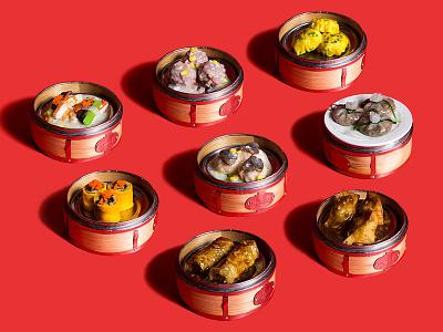 Dimsum Party food chinese tofu dumpling siomai dimsum