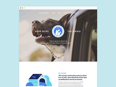 Hound Haven Site charity website dog haven hound