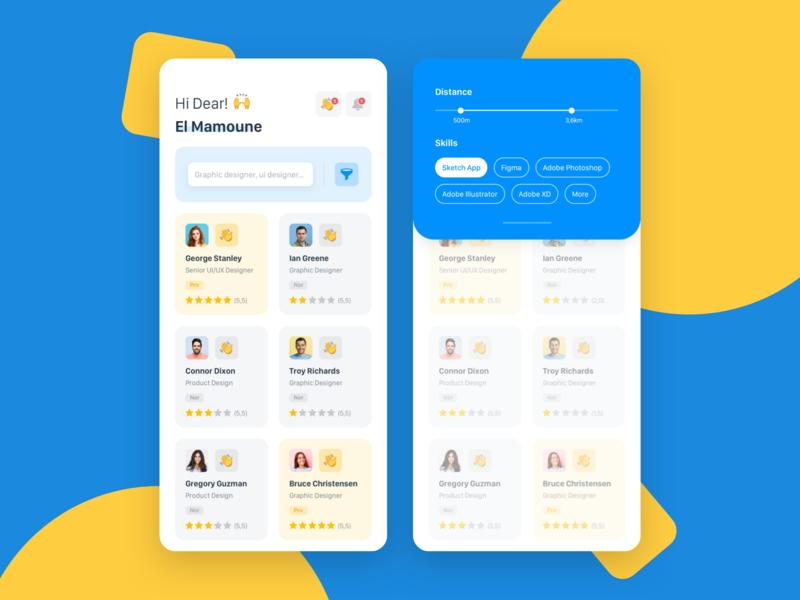 Social app   Mobile Concept
