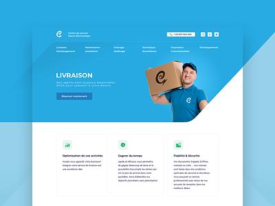 CSME Services Website branding homepage design landing page landing page design landing logo website ui ui desgin design ui  ux design