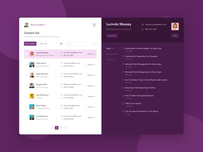 Tasks Management Web App